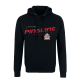 Fischtown Pinguins - Hoodie - Black - Red Pinguins - Gr. S