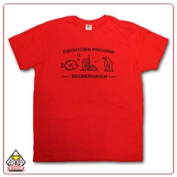Fischtown Pinguins - T-Shirt - Comic - XL