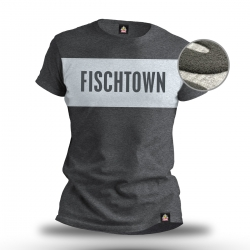 Fischtown Pinguins - Puff-Druck - T-Shirt - Grau